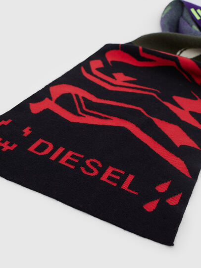 Diesel - K-BRANKO, Black/Violet - Scarf - Image 2