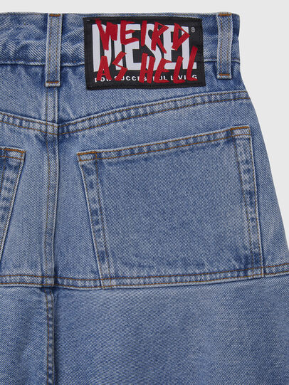 Diesel - DE-BETHY, Light Blue - Skirts - Image 5