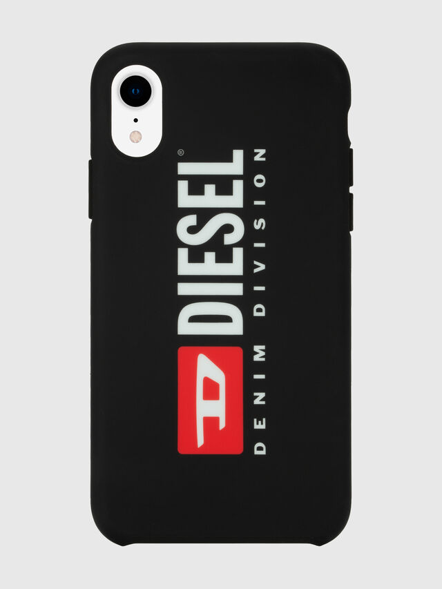 Diesel - DIESEL PRINTED CO-MOLD CASE FOR IPHONE XR, Black/White - Cases - Image 4