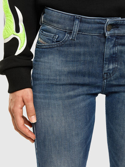 Diesel - Slandy 009FF, Medium blue - Jeans - Image 3