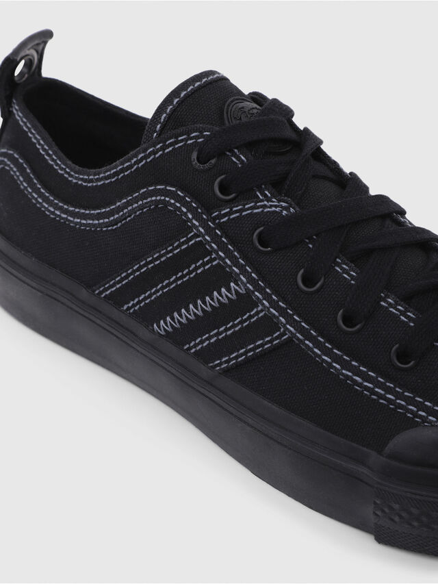 Diesel - S-ASTICO LOW LACE W, Black - Sneakers - Image 4