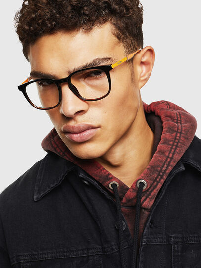 Diesel - DL5349, Black/Yellow - Eyeglasses - Image 5