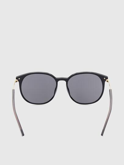 Diesel - DL0353, Black/Yellow - Sunglasses - Image 4