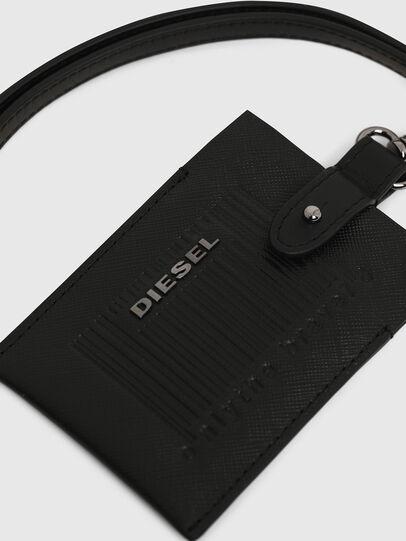 Diesel - BADGE, Black - Card cases - Image 4