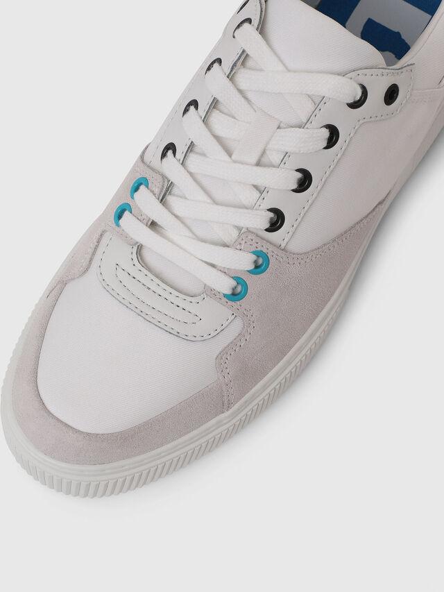 Diesel - S-DANNY LC, White - Sneakers - Image 4