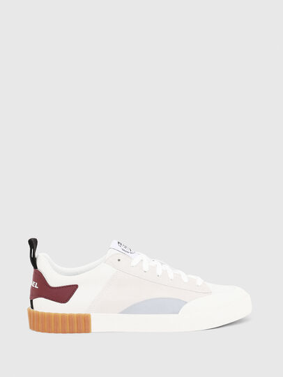 Diesel - S-BULLY LC, White/Red - Sneakers - Image 1