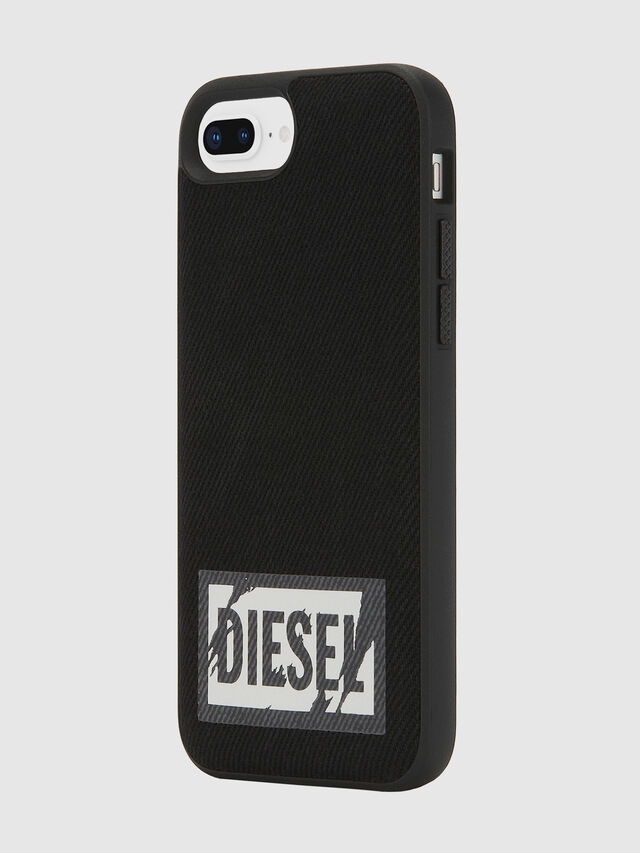 Diesel - BLACK DENIM IPHONE 8 PLUS/7 PLUS/6S PLUS/6 PLUS CASE, Black - Cases - Image 6