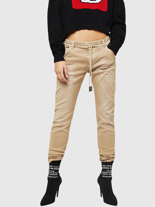 Krailey JoggJeans 0670M, Beige - Jeans