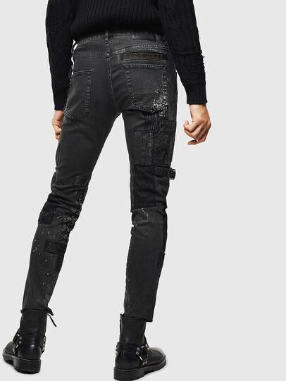 Diesel - D-Strukt 0093P, Black/Dark grey - Jeans - Image 2