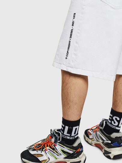 Diesel - D-BRON, White - Shorts - Image 5