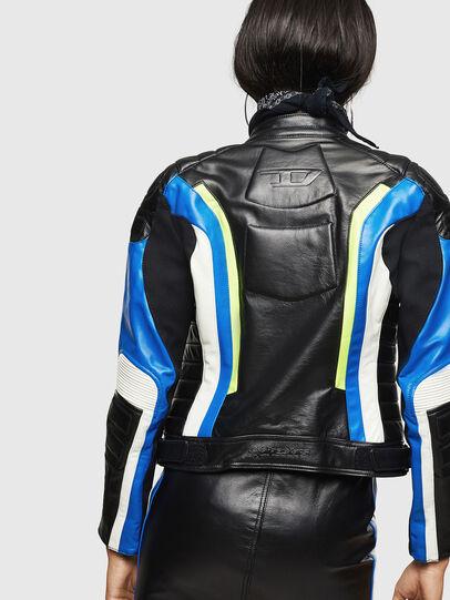 Diesel - ASTARS-LQUATTRO, Black - Leather jackets - Image 2