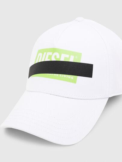 Diesel - CIRIDE-M, White - Caps - Image 3