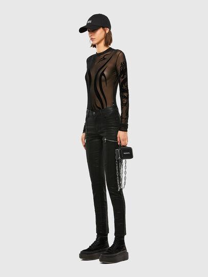 Diesel - D-Ollies JoggJeans 069RK, Black/Dark grey - Jeans - Image 8