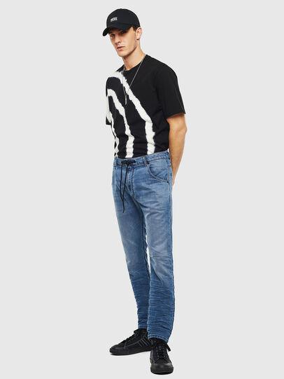 Diesel - Krooley JoggJeans 069MA, Medium blue - Jeans - Image 7
