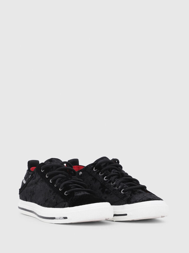 Diesel - EXPOSURE IV LOW  W, Black - Sneakers - Image 2