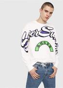 S-BAY-RADIO-PRINT, White - Sweaters