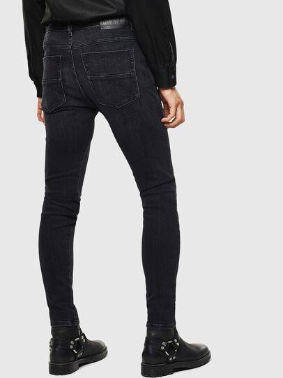 Diesel - D-Amny 0096P, Black/Dark grey - Jeans - Image 2
