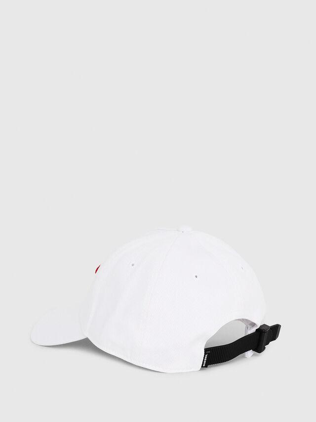 Diesel - C-DIGRA, White - Caps - Image 2