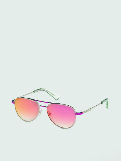 Diesel - DL0291, Pink/White - Kid Eyewear - Image 2