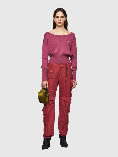 Diesel - P-GIULIA, Pink - Pants - Image 5