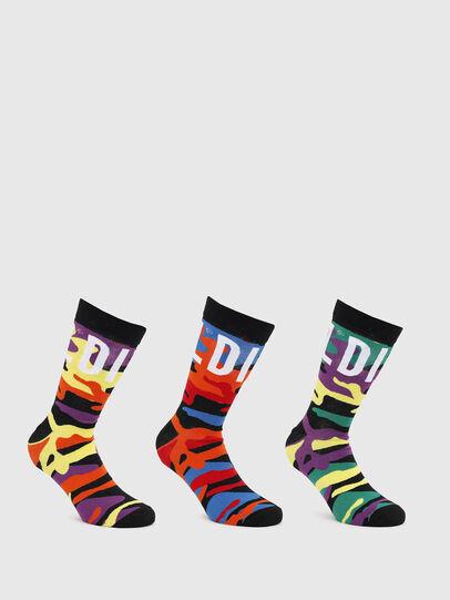 Diesel - SKM-HERMINE-THREEPAC, Multicolor - Socks - Image 1