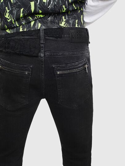 Diesel - D-Amny 009CE, Black/Dark grey - Jeans - Image 4