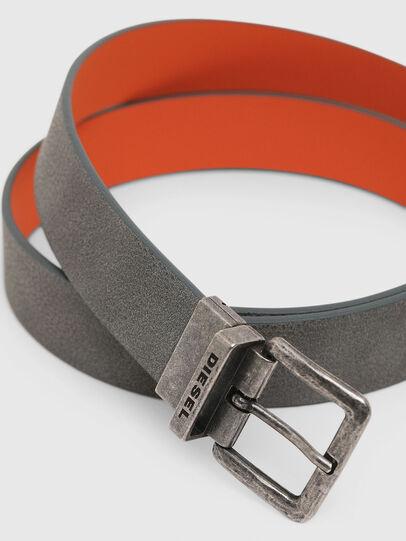 Diesel - B-DOUBLEX, Grey - Belts - Image 2