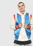 L-HARU, White/Red/Blu - Leather jackets