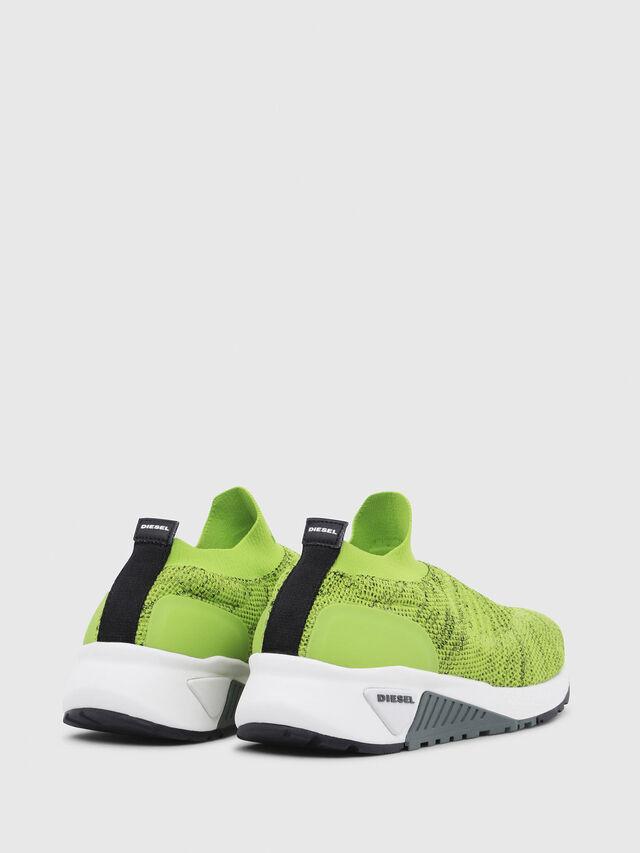 Diesel - S-KB ATHL SOCK, Green Fluo - Sneakers - Image 3