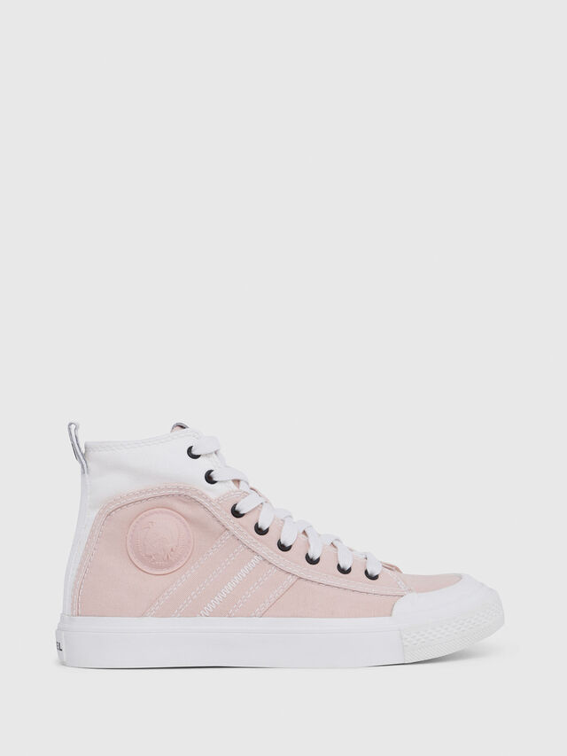 Diesel - S-ASTICO MID LACE W, Pink/White - Sneakers - Image 1