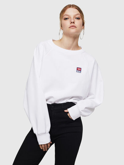 Diesel - F-HENNY-E, White - Sweaters - Image 1