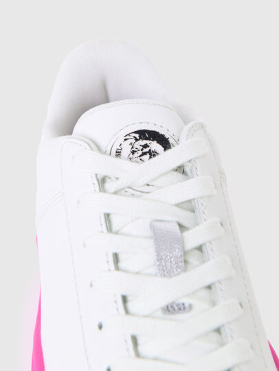 Diesel - S-CLEVER LOW LACE W, White/Pink - Sneakers - Image 5