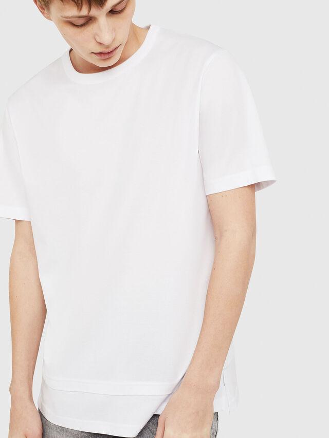 Diesel - T-YORI-Y1, White - T-Shirts - Image 1
