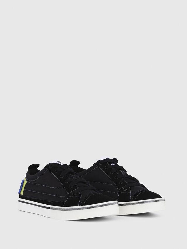Diesel - D-VELOWS LOW PATCH W, Black - Sneakers - Image 2