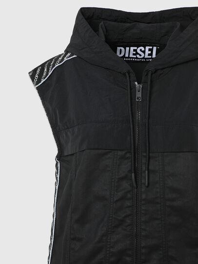 Diesel - D-JANA JOGGJEANS, Black/Dark grey - Dresses - Image 7