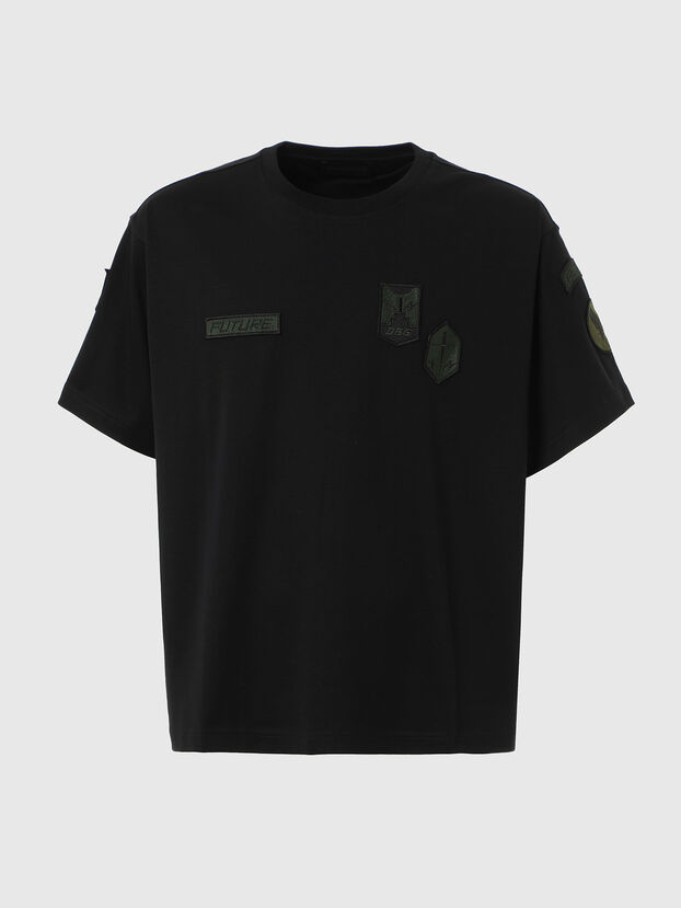 T-CROLF, Black - T-Shirts