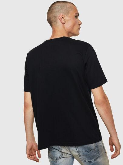 Diesel - T-JUST-BX2, Black - T-Shirts - Image 2