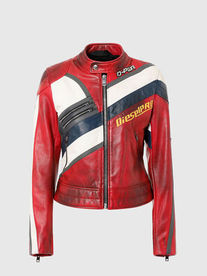 L-POLLY, Red - Leather jackets