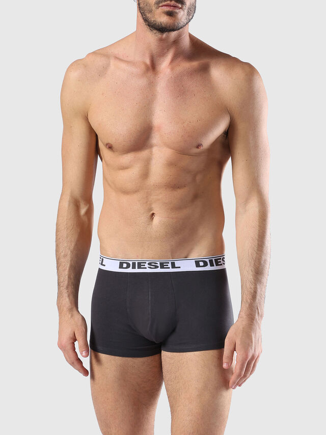 Diesel UMBX-SHAWNTHREE-PACK, Black/Green - Trunks - Image 2