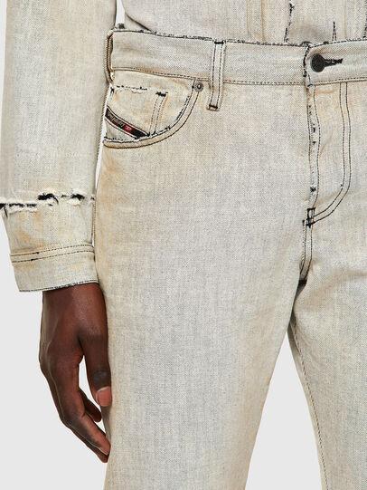 Diesel - D-Kras 09A53, White - Jeans - Image 5