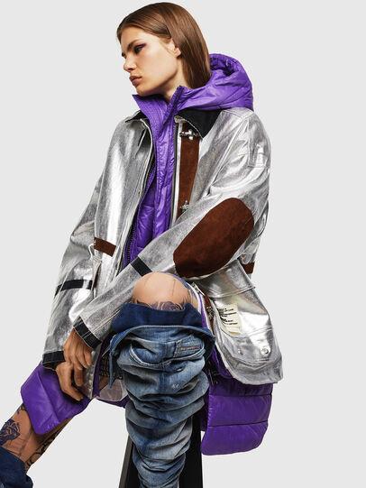 Diesel - W-GELYA, Silver - Winter Jackets - Image 4