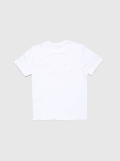 Diesel - TJUSTA9, White - T-shirts and Tops - Image 2
