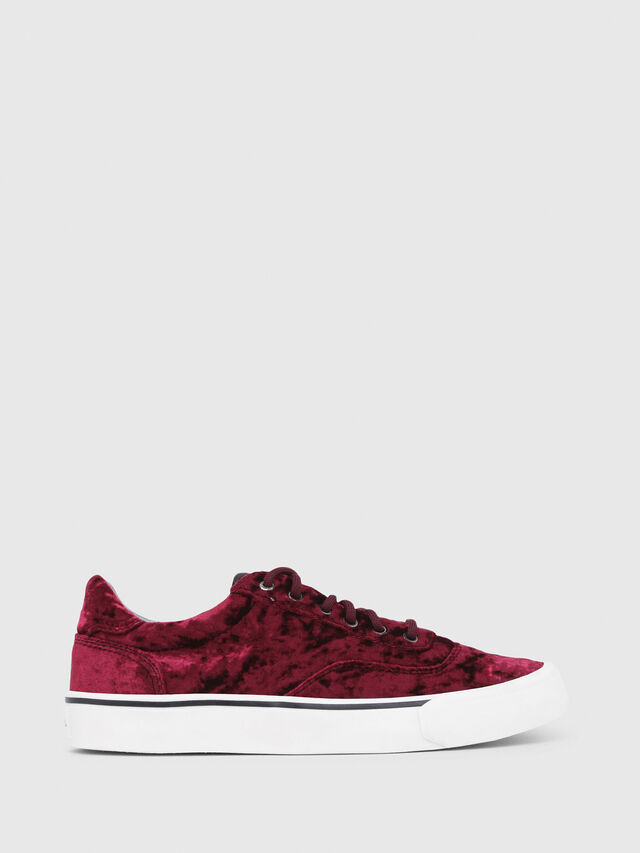 Diesel - S-FLIP LOW W, Bordeaux - Sneakers - Image 1