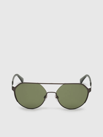 Diesel - DL0324, Black/Green - Sunglasses - Image 1