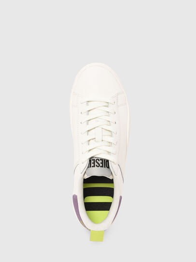 Diesel - S-CLEVER LOW LACE W, White/Violet - Sneakers - Image 5