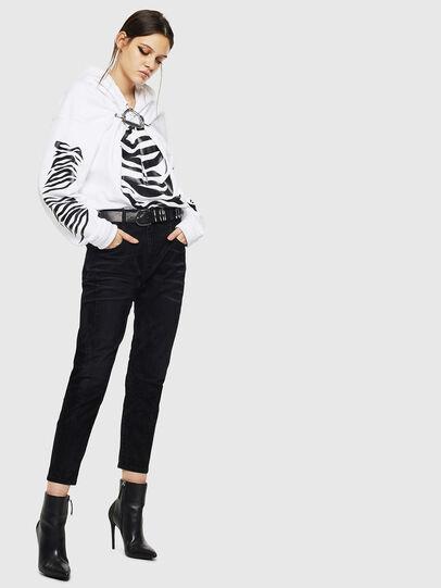 Diesel - Fayza 0091I, Black/Dark grey - Jeans - Image 6