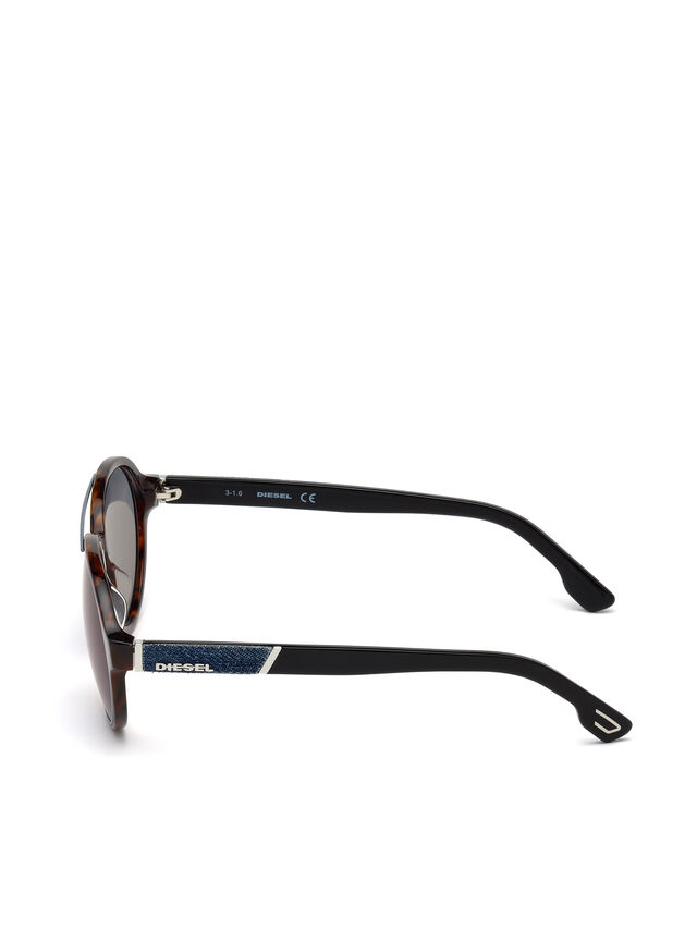 Diesel DL0214, Brown - Eyewear - Image 3