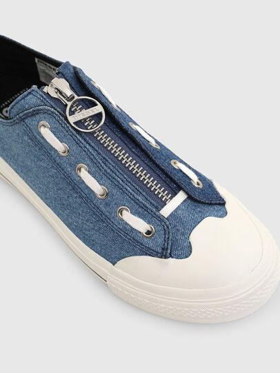 Diesel - S-ASTICO LZIP W, Blue - Sneakers - Image 3