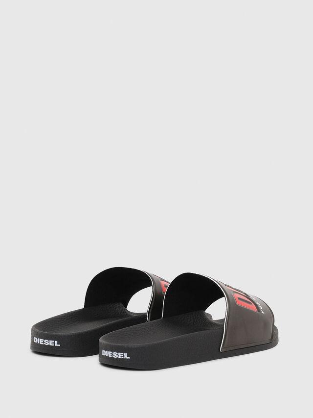 Diesel - SA-VALLA W, Black - Slippers - Image 3