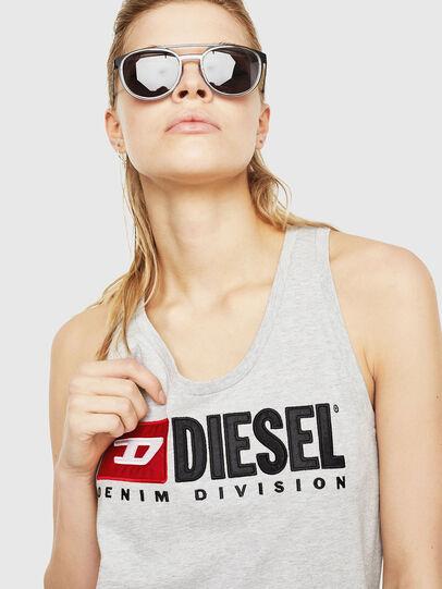 Diesel - T-SILK, Light Grey - Tops - Image 3